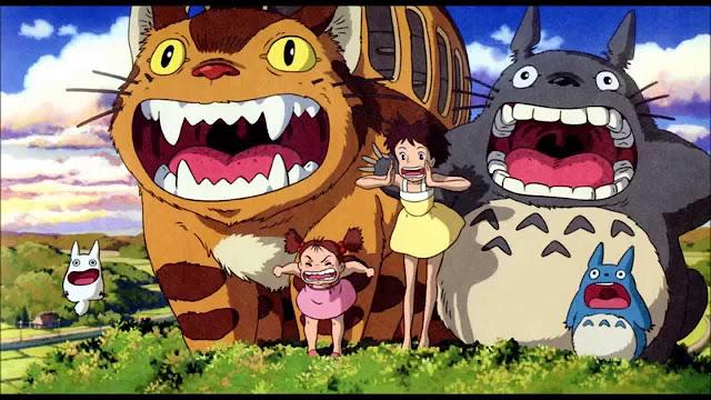 Película de Studio Ghibli Mi vecino Totoro dirigida por Hayao Miyazaki en el año 1988
