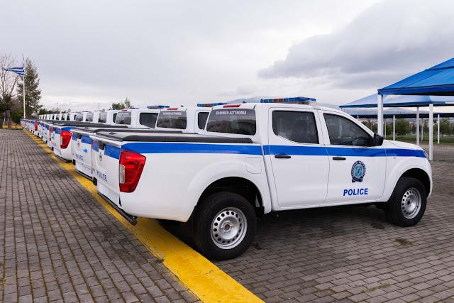 Με 53 διπλοκάμπινα αγροτικά ενισχύεται ο στόλος της Ελληνικής Αστυνομίας