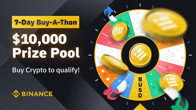 العب عجلة الحظ للحصول على فرصة ربح حتي 10000 دولار مع Binance