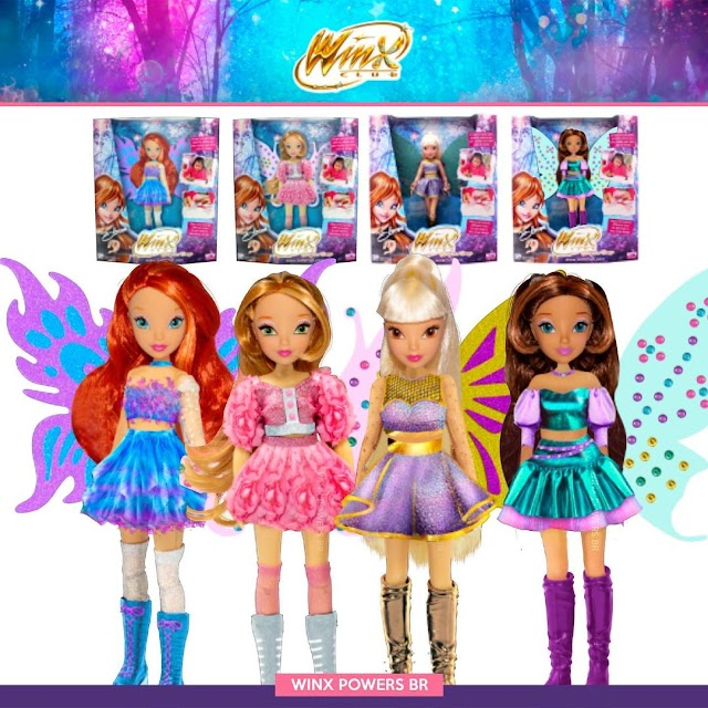 Winx Club Dolls: Bling The Wings [Protótipos]