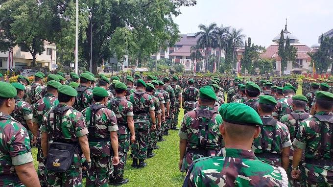 Kodim Depok Terjunkan 762 Personil Amankan Pemilu
