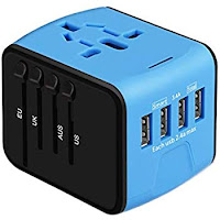 Jonerytime Travel Universal Internation Plug Adapter