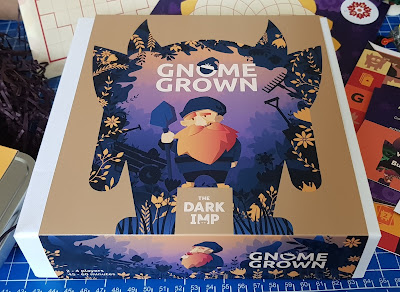 An original Dark Imp game gnome Grown pack shot with beautiful illustrations