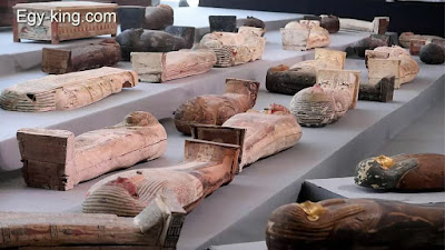 new mummy coffins found in egypt 2020