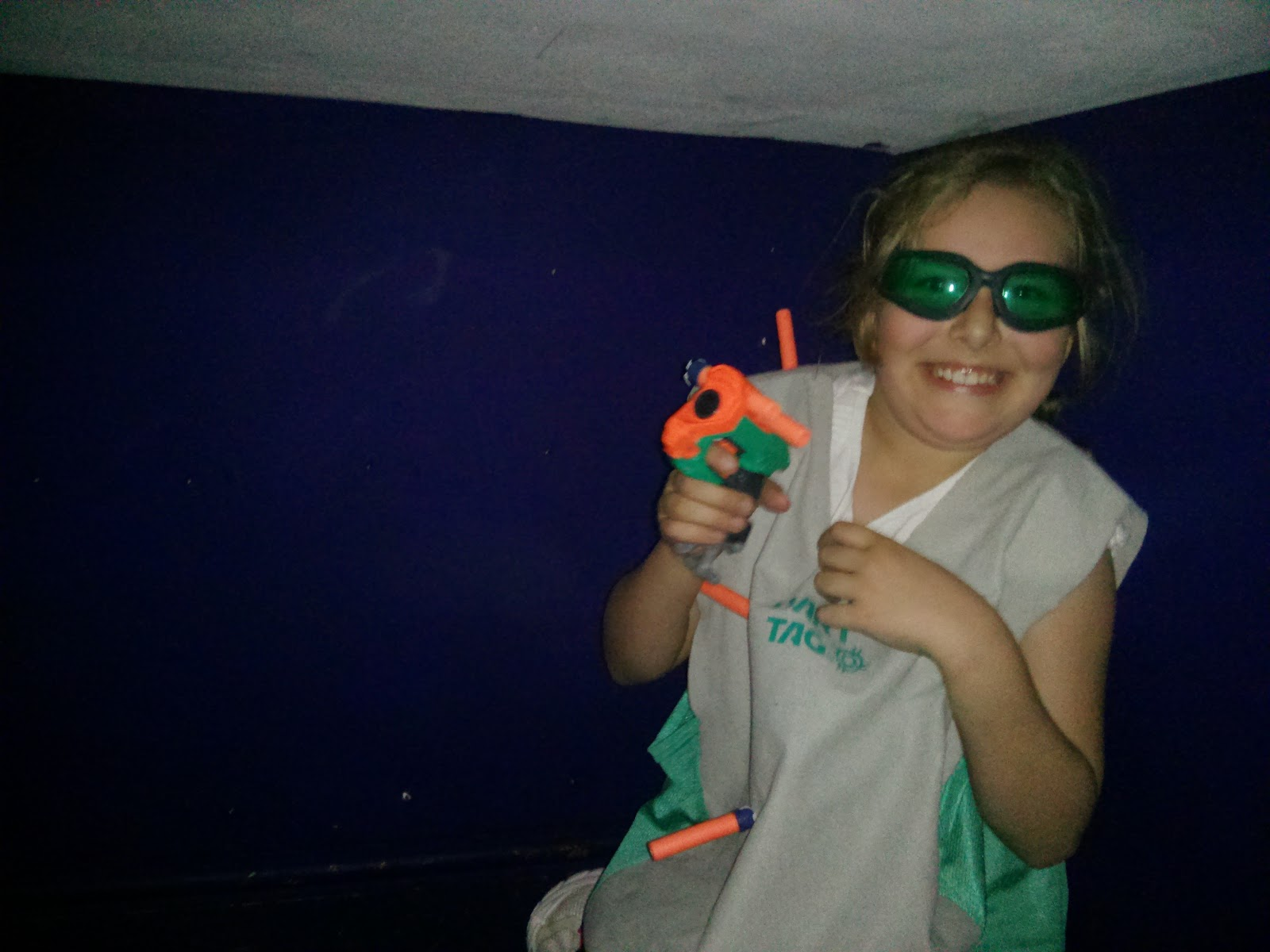 Top Ender at the Nerf Party Gullivers Land Milton Keynes