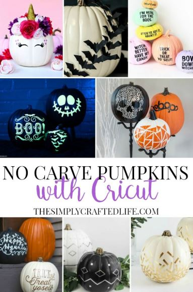 no carve pumpkin decorations