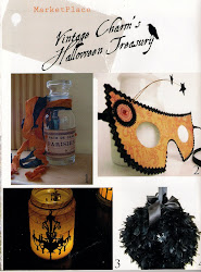 My Halloween Bottle in Creating Vintage Charm
