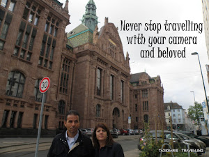 Never stop travelling with your camera and beloved