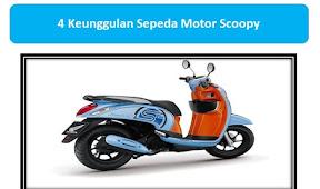 4 Keunggulan Sepeda Motor Scoopy Yang Wajib Diketahui