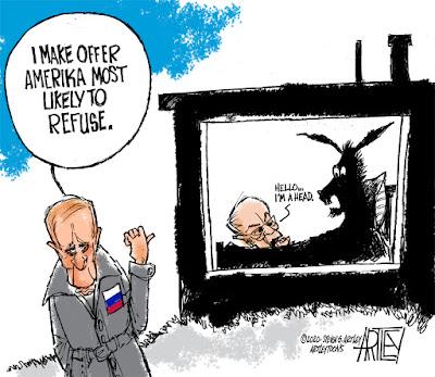 Editorial Cartoon by Steve Artley