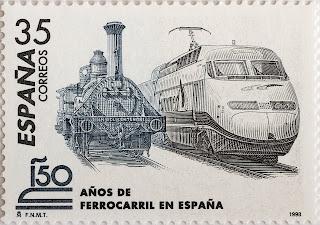 150 AÑOS DEL FERROCARRIL EN ESPAÑA