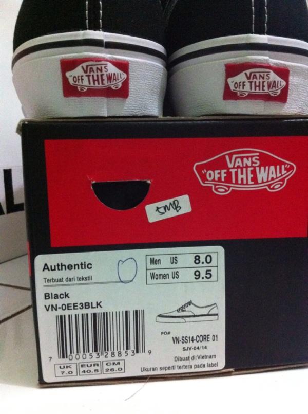 sepatu vans original zalora 6111616a69