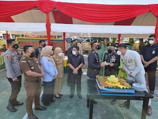 Kunjungi Kodim 1409 Gowa, Kapolres Gowa: Kejutan Ini Sebagai Wujud Sinergitas TNI-Polri