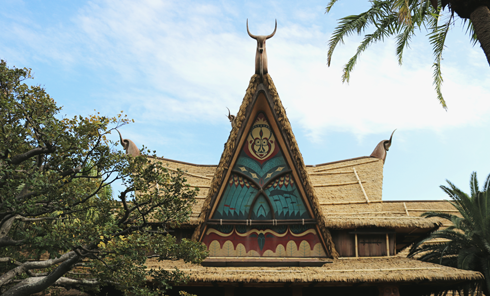 Tiki Room Tokyo Disneyland