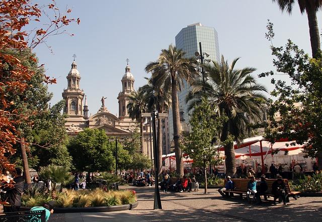 Downtown-Architecture-City-Chile-Santiago-Square