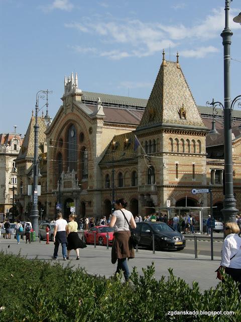 Budapeszt - hala targowa