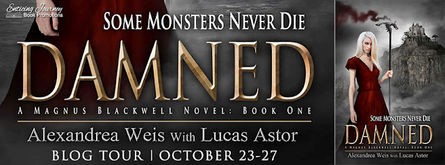 [Blog Tour] DAMNED by Alexandrea Weis w/ Lucas Astor @alexandreaweis @EJBookPromos #Excerpt #Review #Giveaway