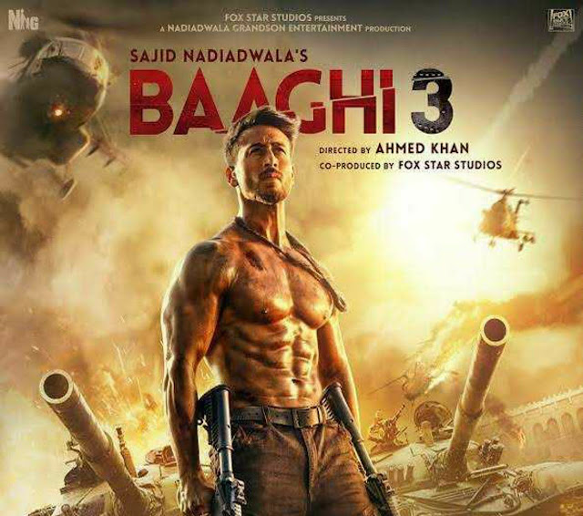 Baaghi 3 latest Hindi movie