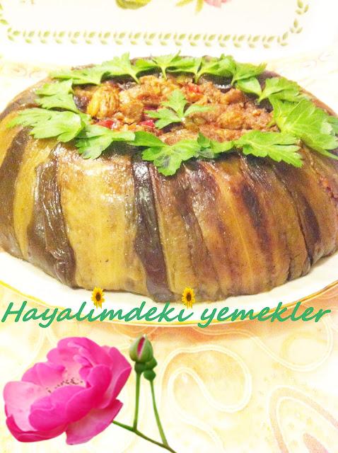 Patlıcanlı Pilav  tarifi resimli degisik pilav tarifleri