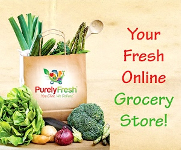 purelyfresh online groceries store promotion