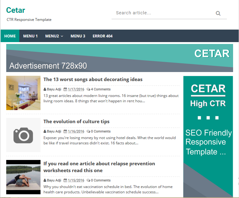 Cetar high ctr responsive blogger template softdews for Xml templates for blogger free download