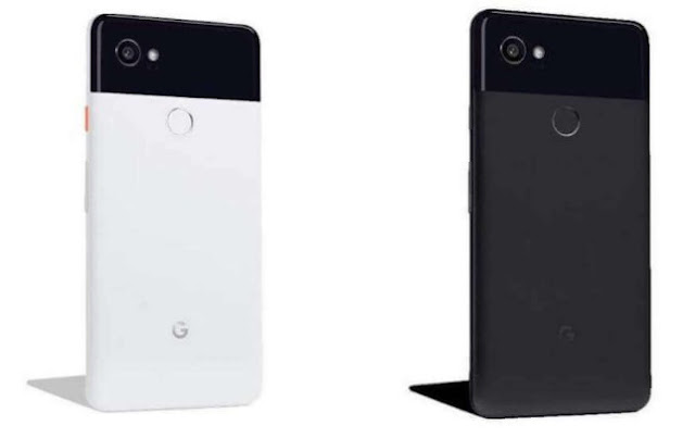 Google Pixel 2 XL available in Black and Whitecolor
