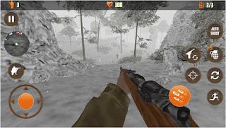 تحميل لعبة الاكشن المهكرة  Call of sniper apk