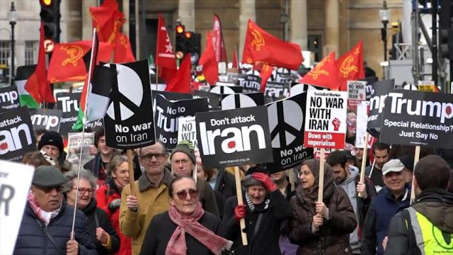 Activistas en el mundo piden a EEUU evitar una guerra con Irán