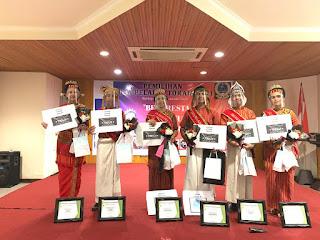Kevin dan Elsi Patinggi Juara 1 Duta Pelajar Toraja 2021