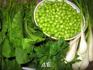 продукты для зеленого супа