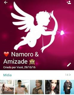 Namoro e Amizade - Grupo de WhatsApp de Amizade