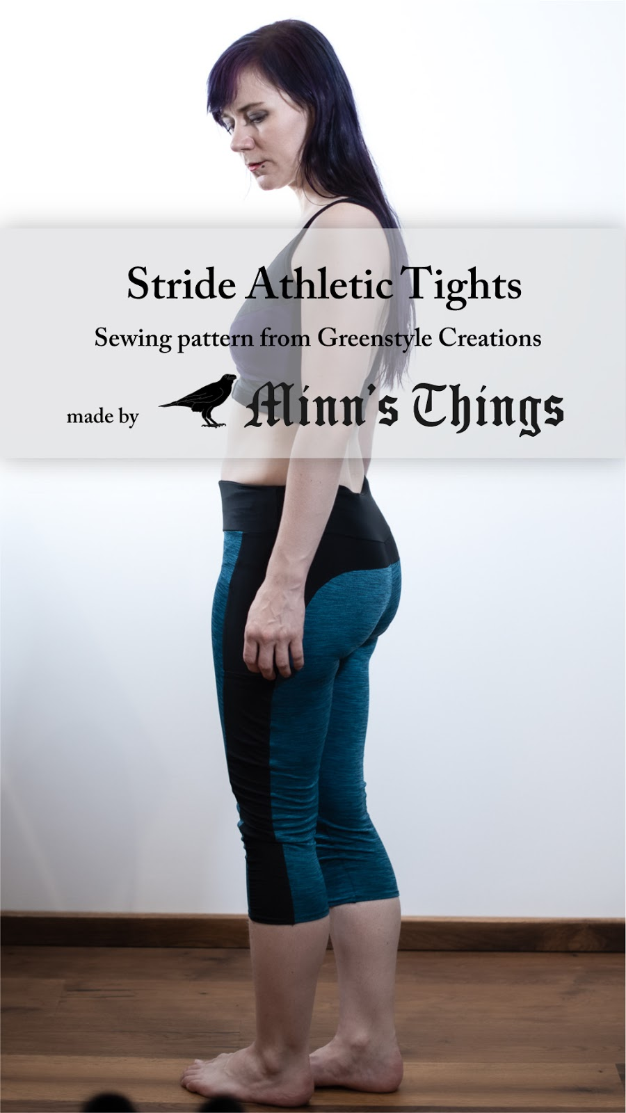 minn's things sewing sports leggings greenstyle creations pattern stride athletic tights pinterest
