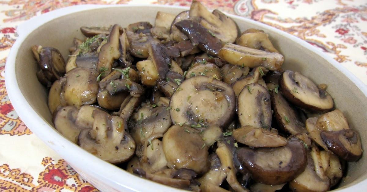 Steakhouse Sautéed Mushrooms - Plain Chicken
