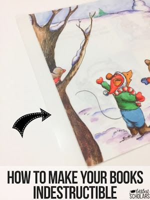 Make your books indestructible by using these simple steps!