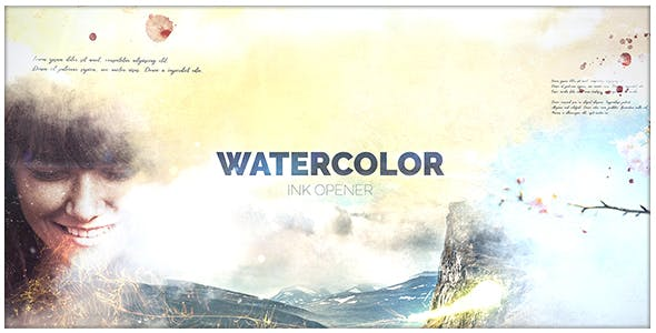 Videohive - Watercolor Ink - 21117056