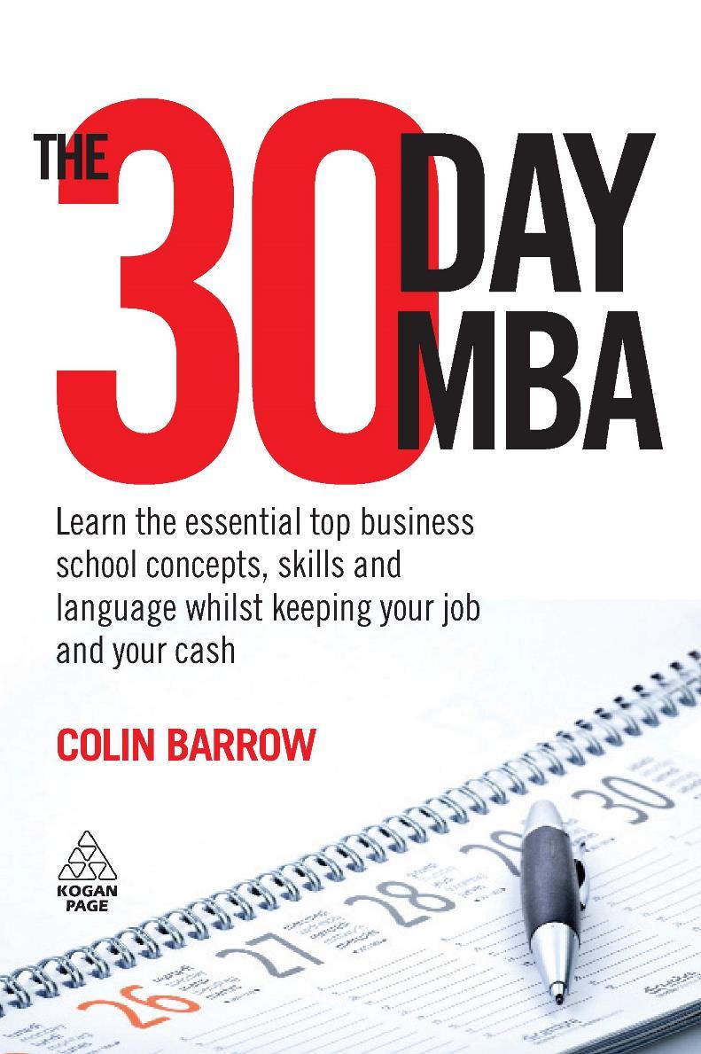 The 30 Day MBA – Colin Barrow