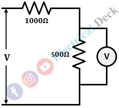 Loading Effect of Voltmeter