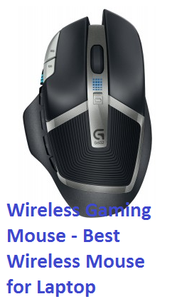 Logitech G602 Wireless Gaming Mouse - Best Wireless Mouse for Laptop