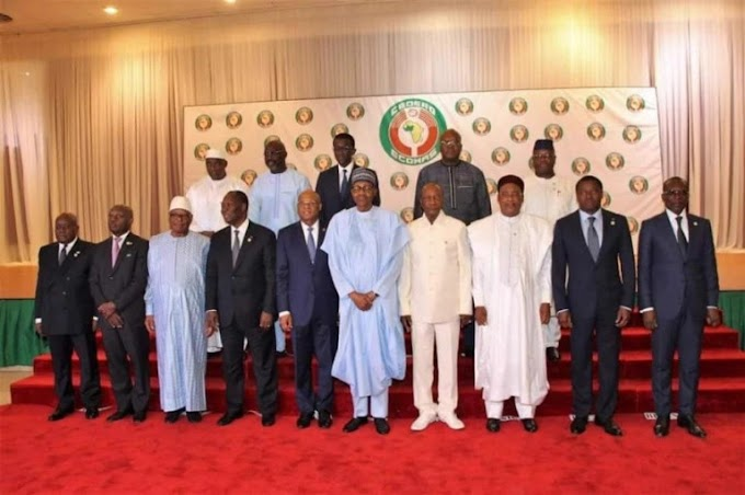 President of Niger Republic Issoufou, takes over as Chair Of ECOWAS commison.