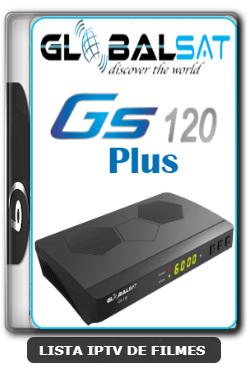 Globalsat GS120 Plus Nova Atualização Melhoria SKS, IKS e Correção do VOD V1.45 - 01-03-2020