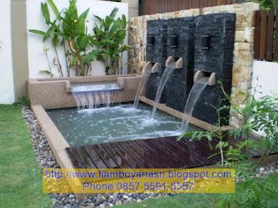 Jasa Pembuatan Taman Air Mancur Minimalis