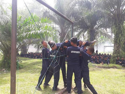 SMK Budhi Darma Gelar Latihan Dasar Kepemimpinan