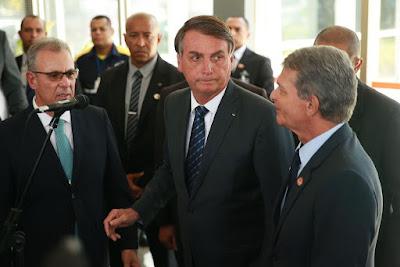 Bolsonaro recebe ministro e diretor de Itaipu para falar de assuntos de energia, Itaipu, também na pauta.