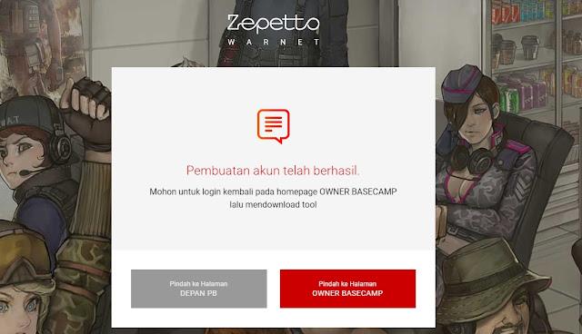 mendaftar basecamp point blank zepetto