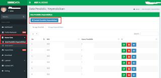 Cara Memasukkan Data Guru di Aplikasi SIMMDATA FKDT Jateng
