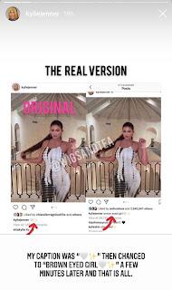 Kylie Jenner fired back on the allegation for shadeism on Instagram