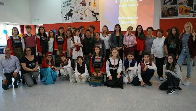 Εμπειρίες ζωής για τους μαθητές του 1ου Γυμνασίου Ναυπλίου στη Ρουμανία