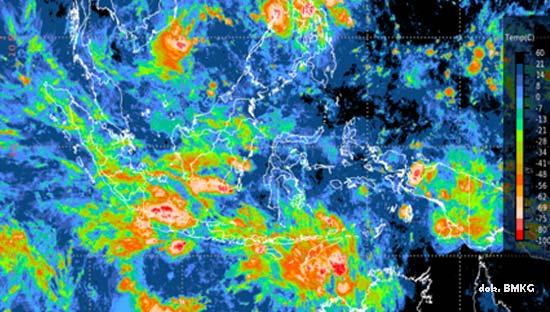 BMKG: Peringatan Dini Cuaca Ekstrem Jateng, 7 - 11 Desember 2020