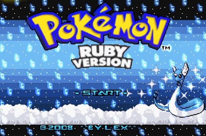 Pokémon Dark Blue (GBA)