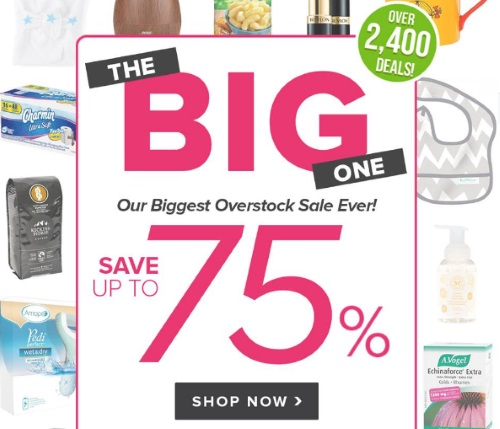Well.ca Biggest Overstock Sale Ever Up To 75% Off